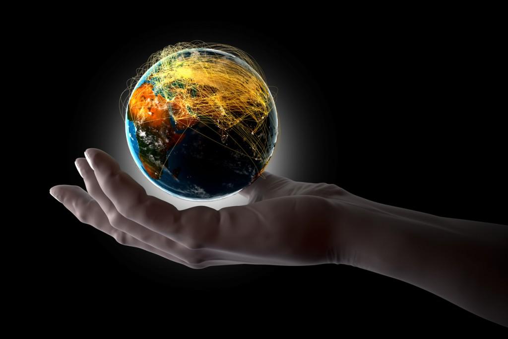 Earth on Hand
